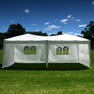 10 X 20 Ez Pop Up Canopy W 6 Sidewalls Golf Outlets Of