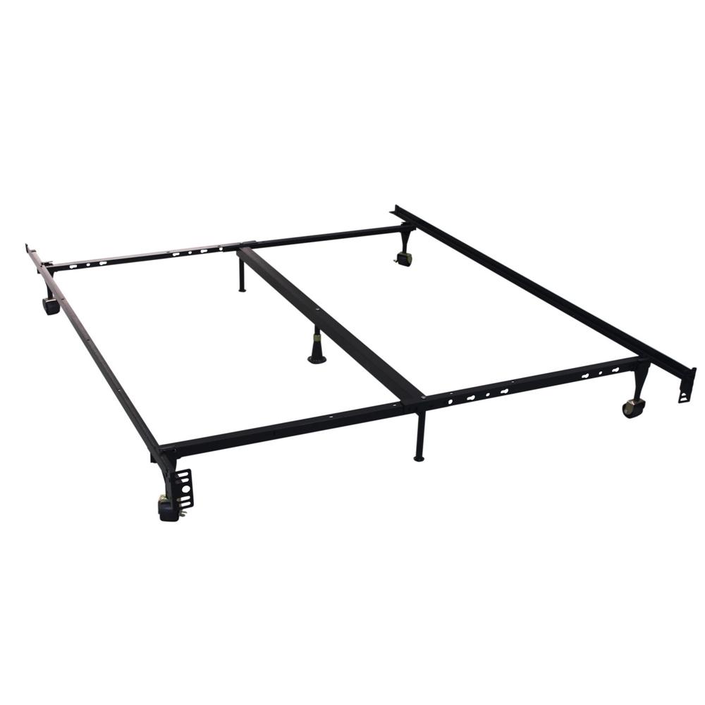 Homegear Heavy Duty 7 Leg Metal Platform Bed Frame