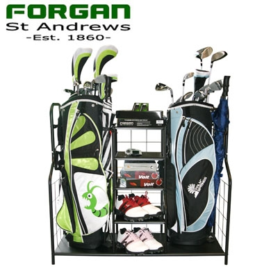 Golf Bag Organizer - Ideal for the Garage - Golf Outlets of America