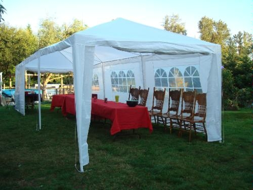 10 X 30 White Party Tent W Windows Amp Sidewalls Golf