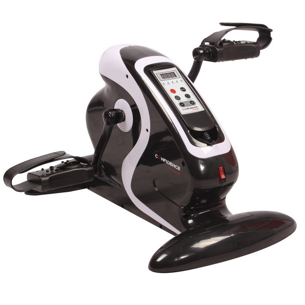Pedal Exerciser For Ms: Confidence Fitness Motorized Electric Mini Exercise Bike